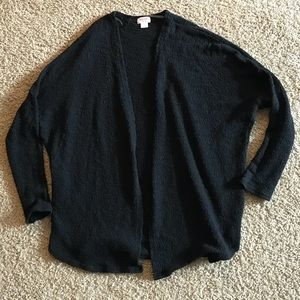Mossimo supply co open front 3/4 sleeves cardigan